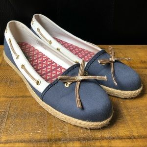 Sperry Top-spider espadrille boat shoe flats